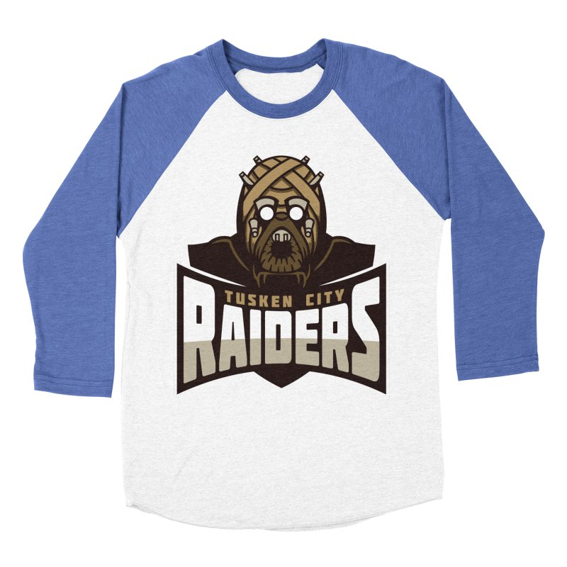 Tusken City Raiders Women's Baseball Triblend T-Shirt by WanderingBert Shirts and stuff