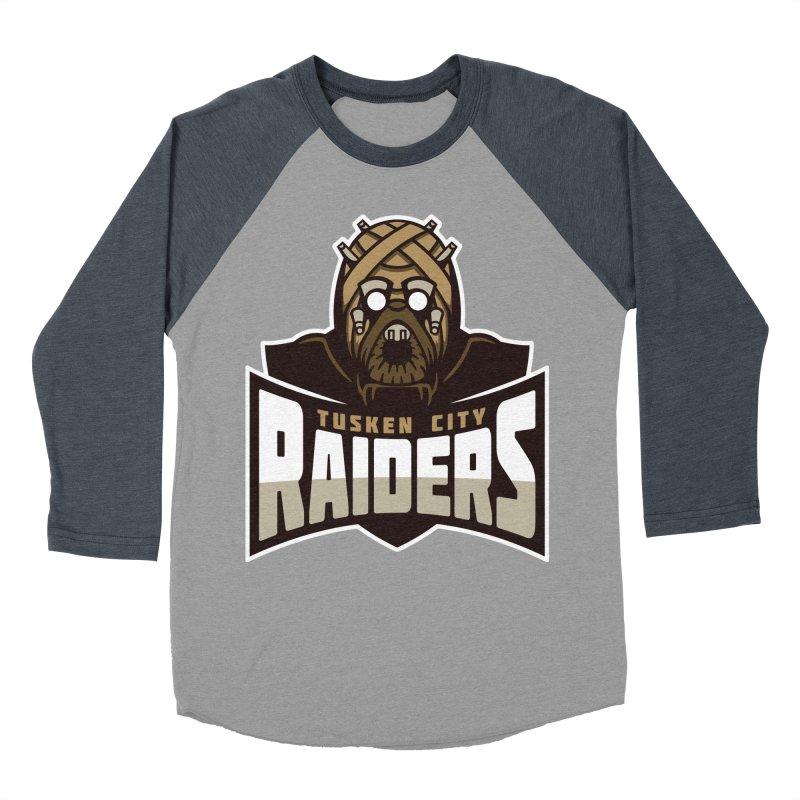 Tusken City Raiders Men's Baseball Triblend T-Shirt by WanderingBert Shirts and stuff