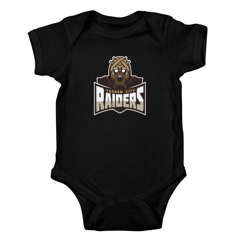 Tusken City Raiders Kids Baby Bodysuit by WanderingBert Shirts and stuff