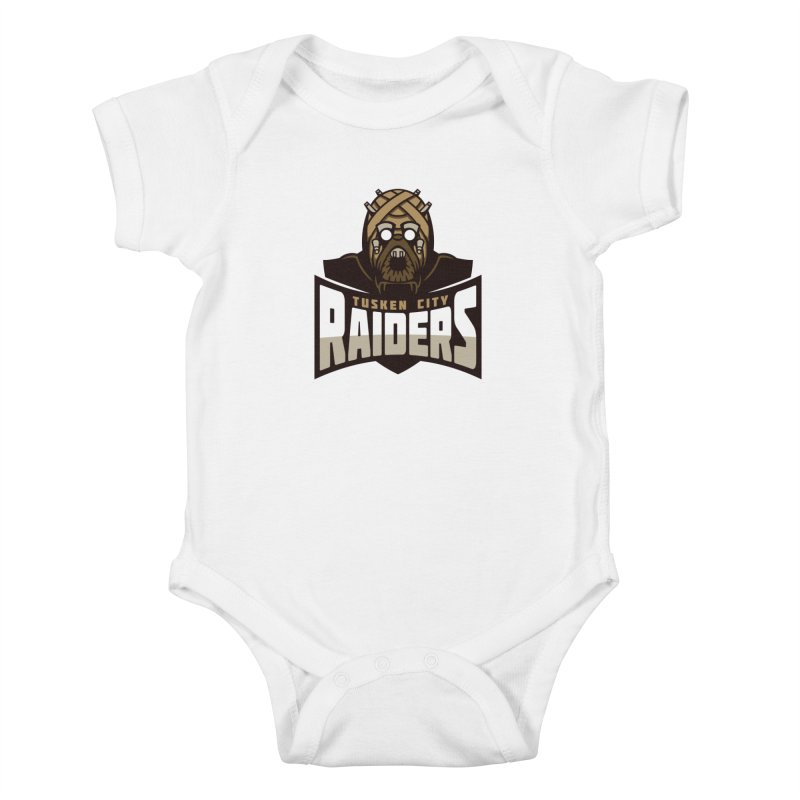 Tusken City Raiders Kids Baby Bodysuit by WanderingBert Shirts and stuff