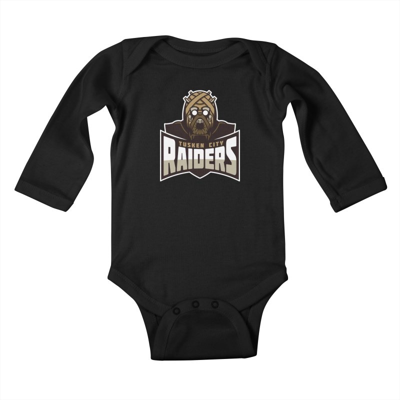 Tusken City Raiders Kids Baby Longsleeve Bodysuit by WanderingBert Shirts and stuff