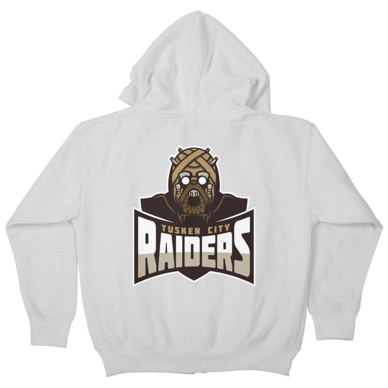 Tusken City Raiders Kids Zip-Up Hoody by WanderingBert Shirts and stuff