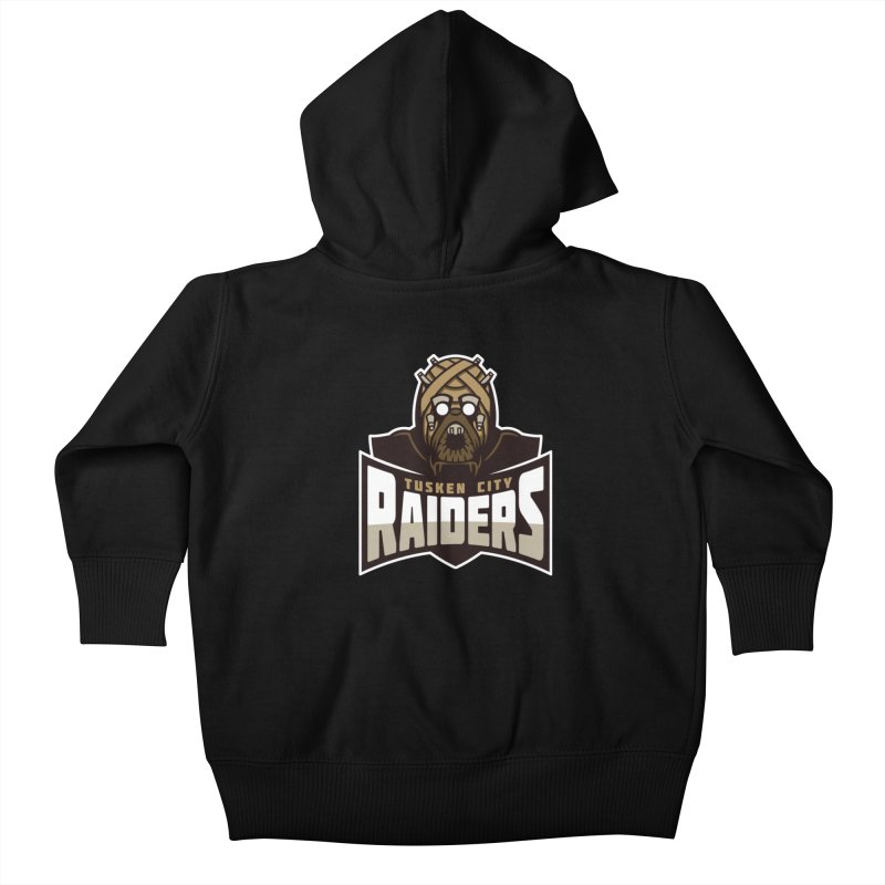 Tusken City Raiders Kids Baby Zip-Up Hoody by WanderingBert Shirts and stuff