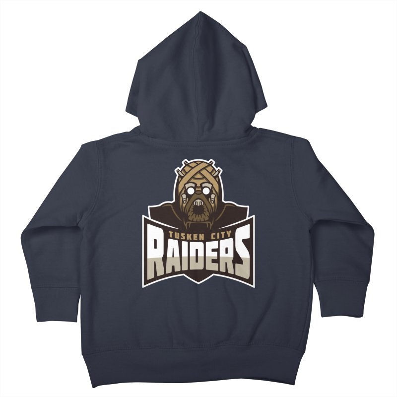 Tusken City Raiders Kids Toddler Zip-Up Hoody by WanderingBert Shirts and stuff