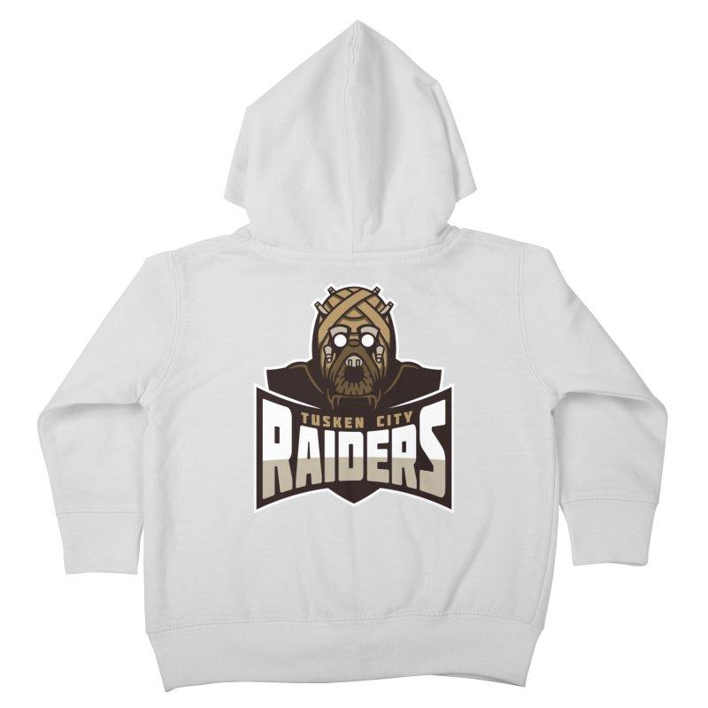 Tusken City Raiders Kids Toddler Zip-Up Hoody by WanderingBert Shirts and stuff