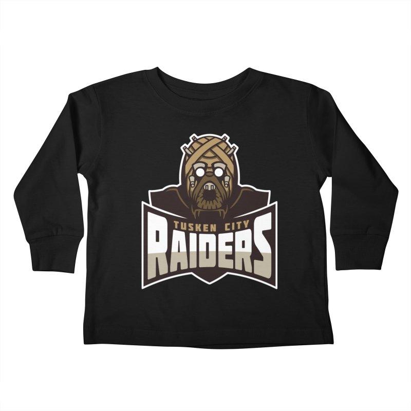 Tusken City Raiders Kids Toddler Longsleeve T-Shirt by WanderingBert Shirts and stuff