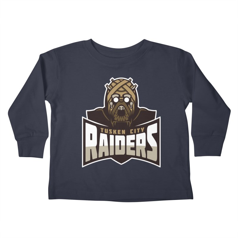 Tusken City Raiders Kids Toddler Longsleeve T-Shirt by WanderingBert Shirts and stuff
