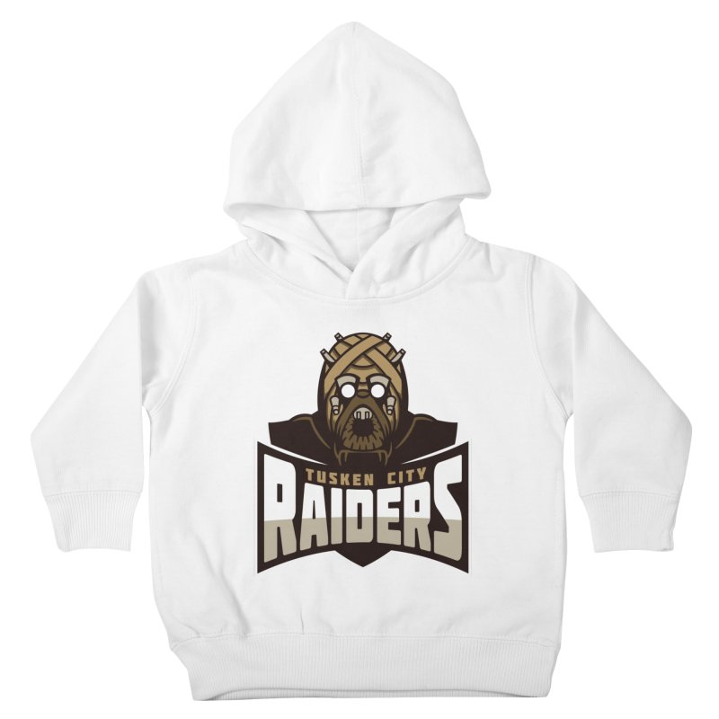 Tusken City Raiders Kids Toddler Pullover Hoody by WanderingBert Shirts and stuff
