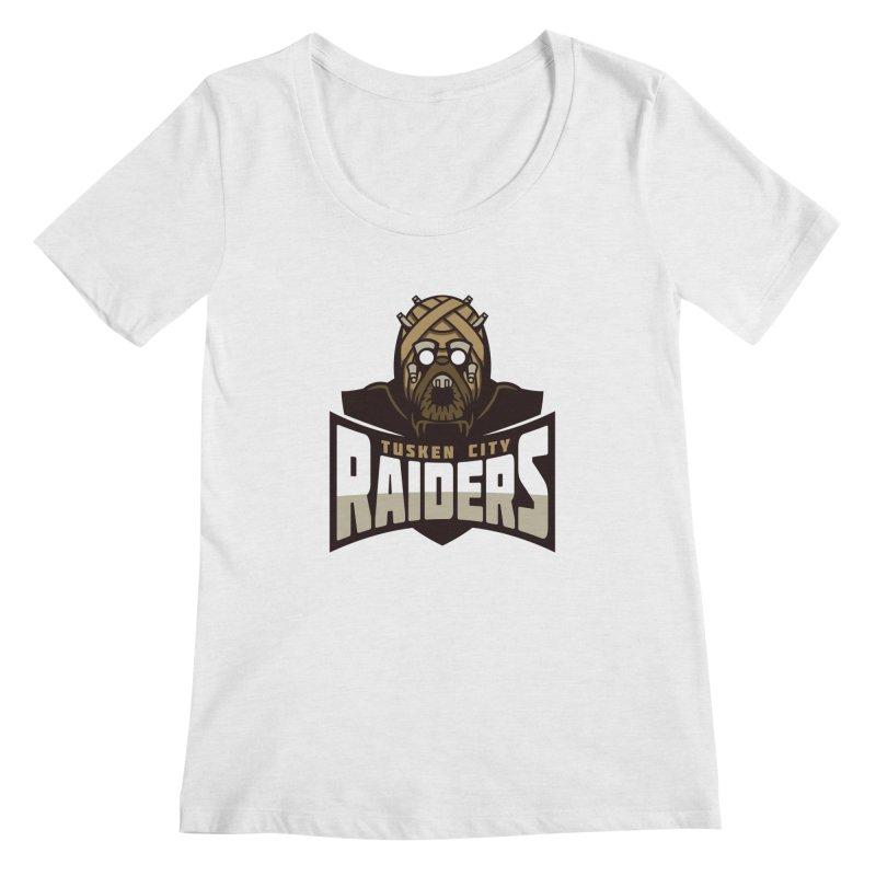 Tusken City Raiders Women's Scoopneck by WanderingBert Shirts and stuff