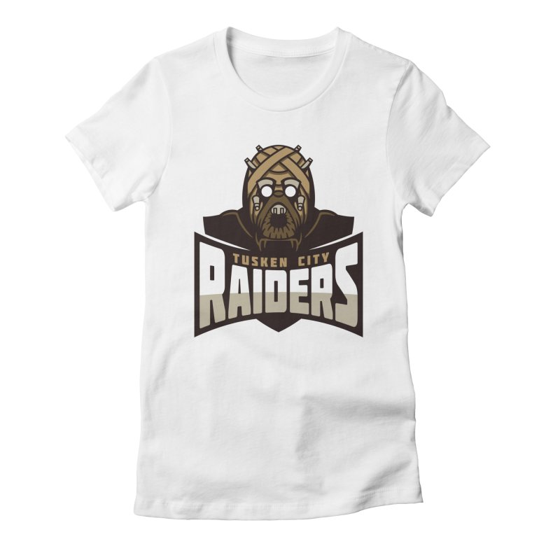 Tusken City Raiders Women's Fitted T-Shirt by WanderingBert Shirts and stuff