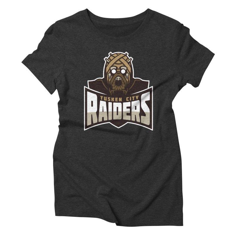 Tusken City Raiders Women's Triblend T-Shirt by WanderingBert Shirts and stuff
