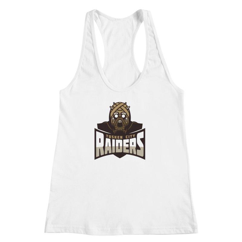 Tusken City Raiders Women's Racerback Tank by WanderingBert Shirts and stuff