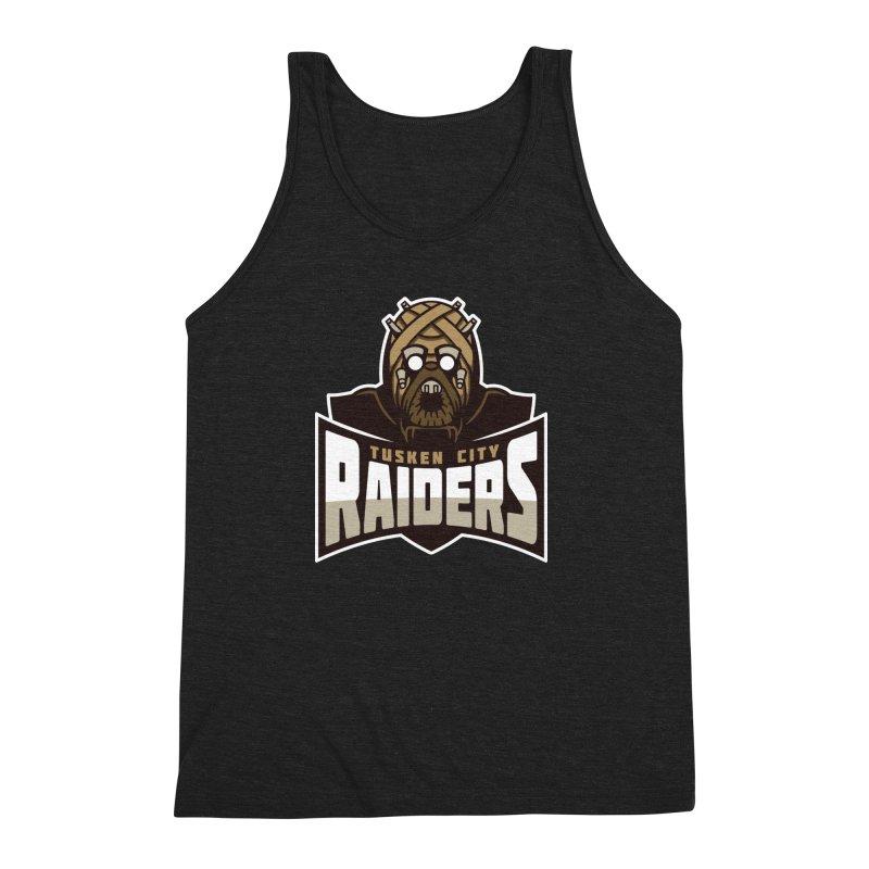 Tusken City Raiders Men's Triblend Tank by WanderingBert Shirts and stuff
