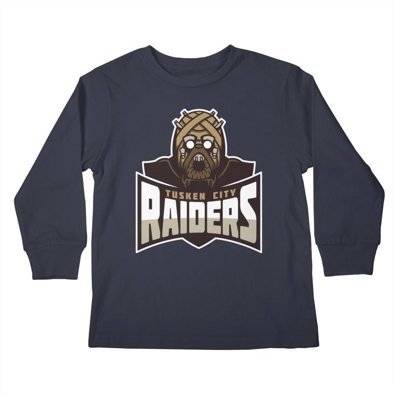 Tusken City Raiders Kids Longsleeve T-Shirt by WanderingBert Shirts and stuff