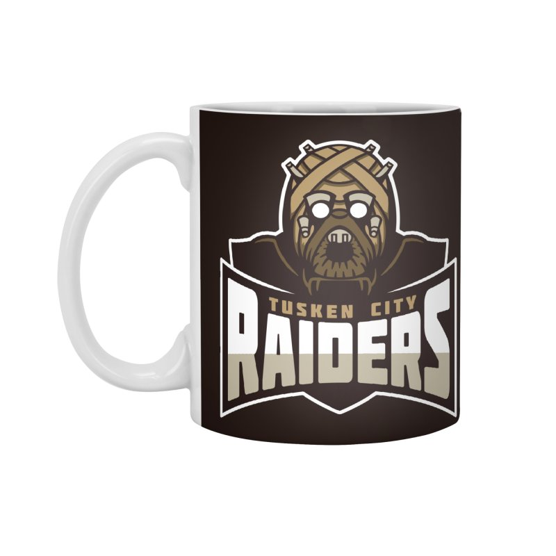 Tusken City Raiders Accessories Mug by WanderingBert Shirts and stuff