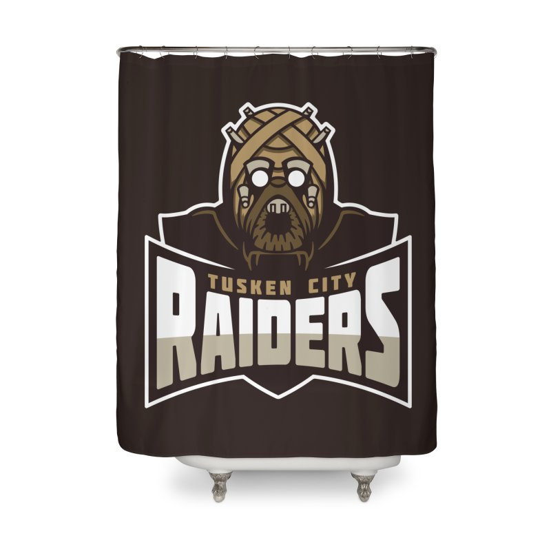 Tusken City Raiders Home Shower Curtain by WanderingBert Shirts and stuff
