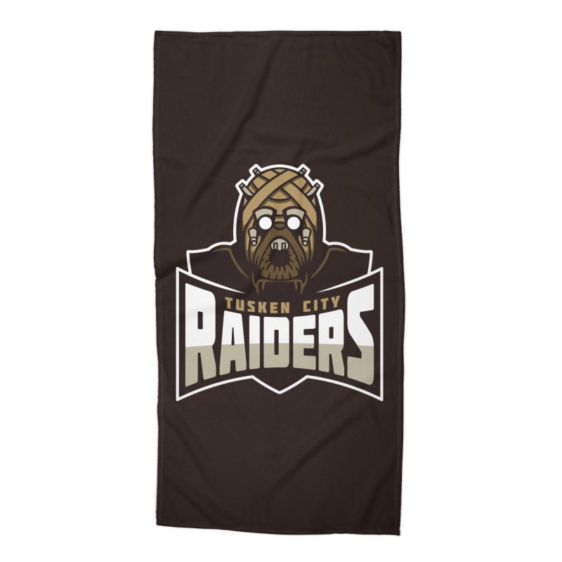 Tusken City Raiders Accessories Beach Towel by WanderingBert Shirts and stuff