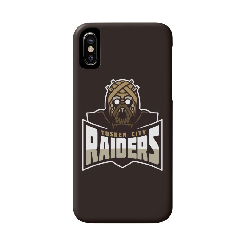 Tusken City Raiders Accessories Phone Case by WanderingBert Shirts and stuff