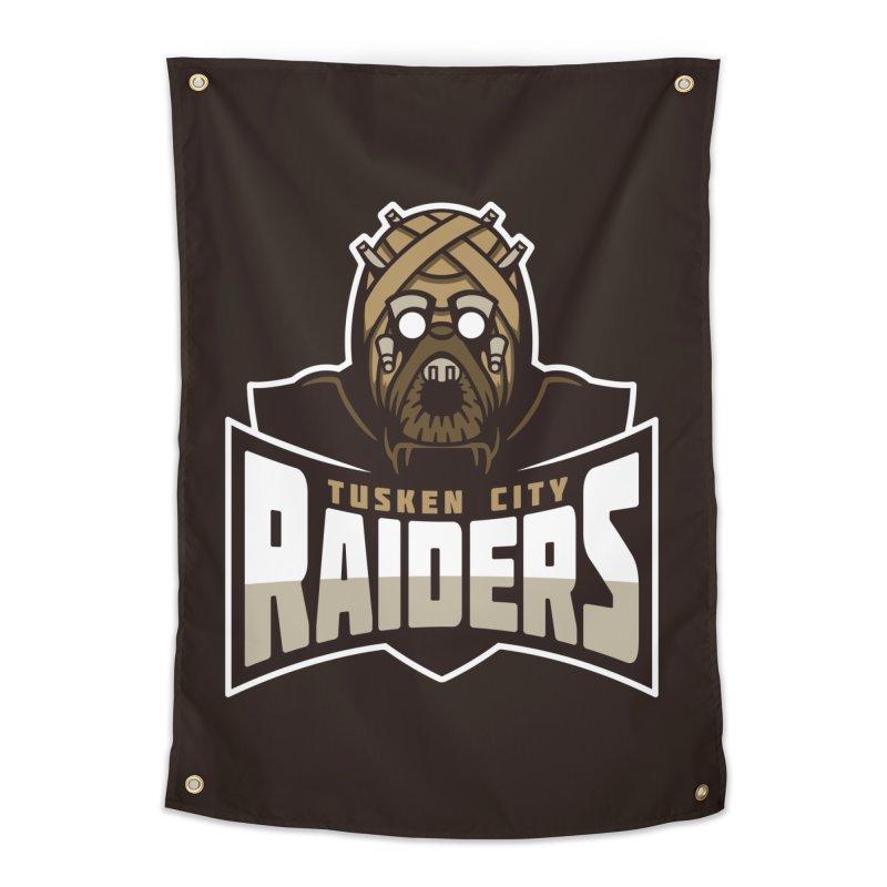 Tusken City Raiders Home Tapestry by WanderingBert Shirts and stuff