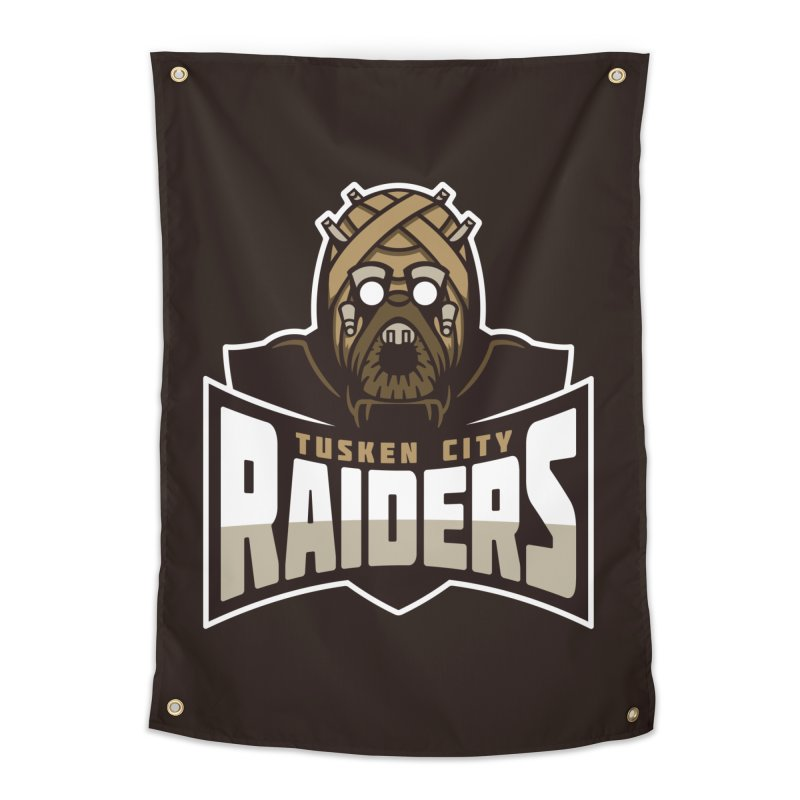 Tusken City Raiders Home Tapestry by WanderingBert Shirts and stuff