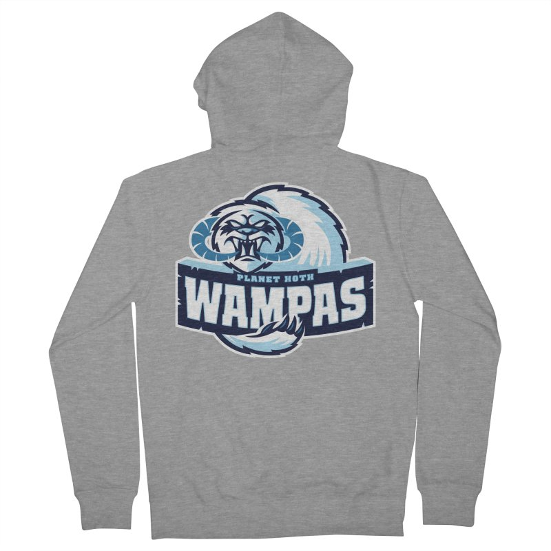 Planet Hoth Wampas Women's Zip-Up Hoody by WanderingBert Shirts and stuff