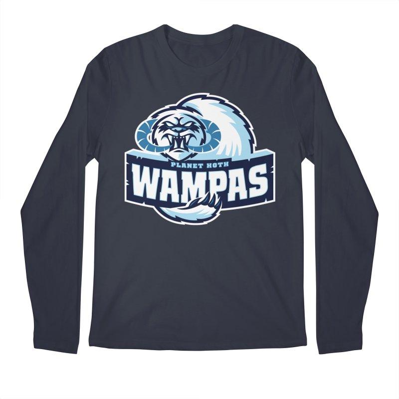 Planet Hoth Wampas Men's Longsleeve T-Shirt by WanderingBert Shirts and stuff