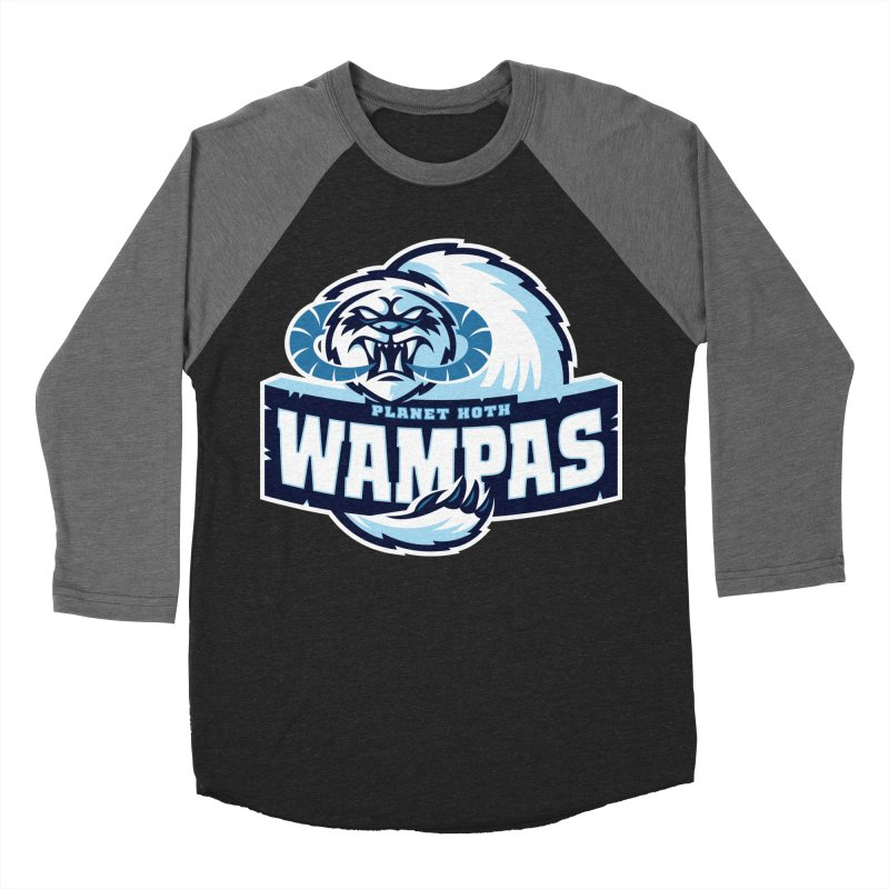 Planet Hoth Wampas Women's Baseball Triblend T-Shirt by WanderingBert Shirts and stuff