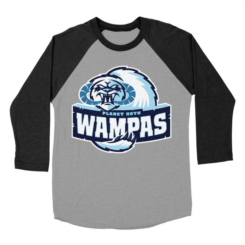 Planet Hoth Wampas Men's Baseball Triblend T-Shirt by WanderingBert Shirts and stuff