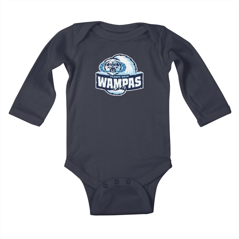 Planet Hoth Wampas Kids Baby Longsleeve Bodysuit by WanderingBert Shirts and stuff