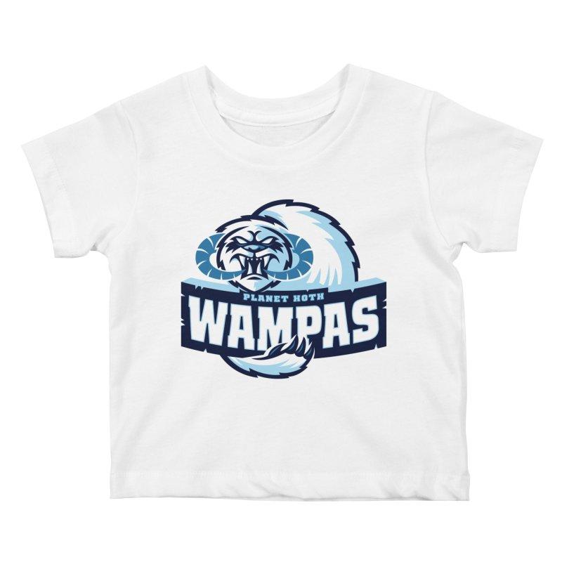 Planet Hoth Wampas Kids Baby T-Shirt by WanderingBert Shirts and stuff