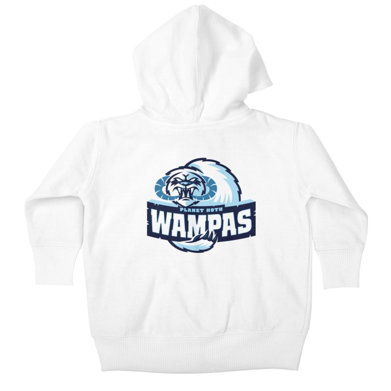 Planet Hoth Wampas Kids Baby Zip-Up Hoody by WanderingBert Shirts and stuff