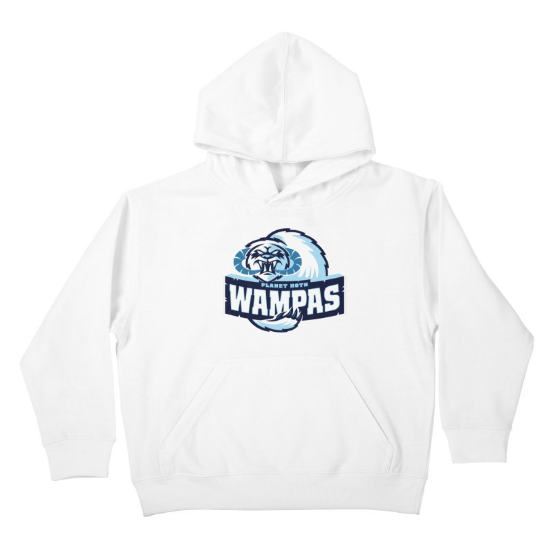 Planet Hoth Wampas Kids Pullover Hoody by WanderingBert Shirts and stuff