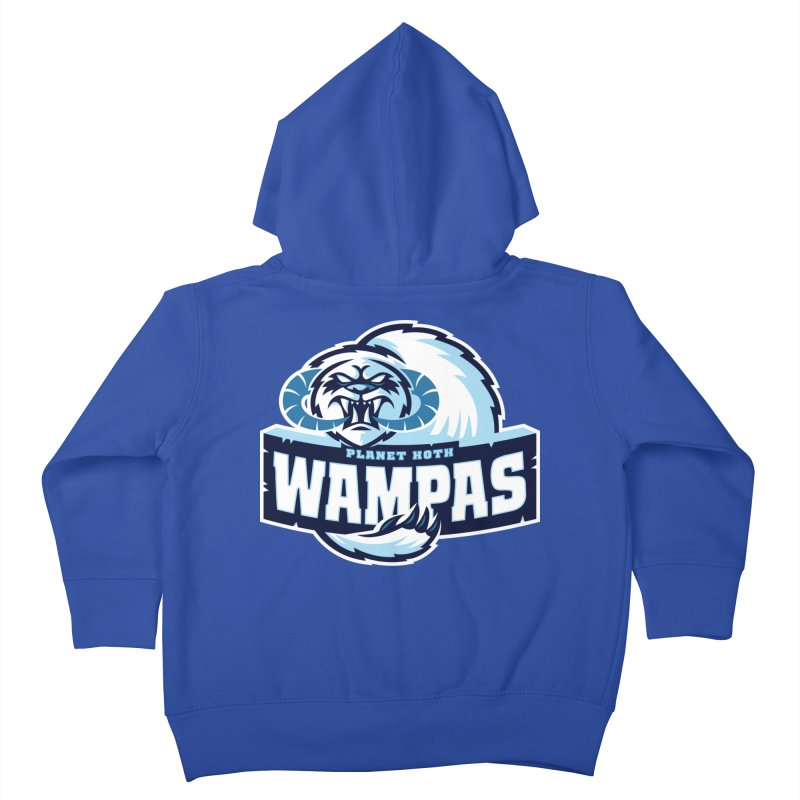 Planet Hoth Wampas Kids Toddler Zip-Up Hoody by WanderingBert Shirts and stuff