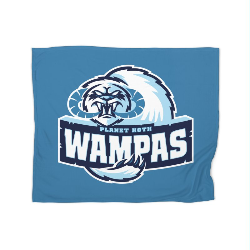 Planet Hoth Wampas Home Blanket by WanderingBert Shirts and stuff