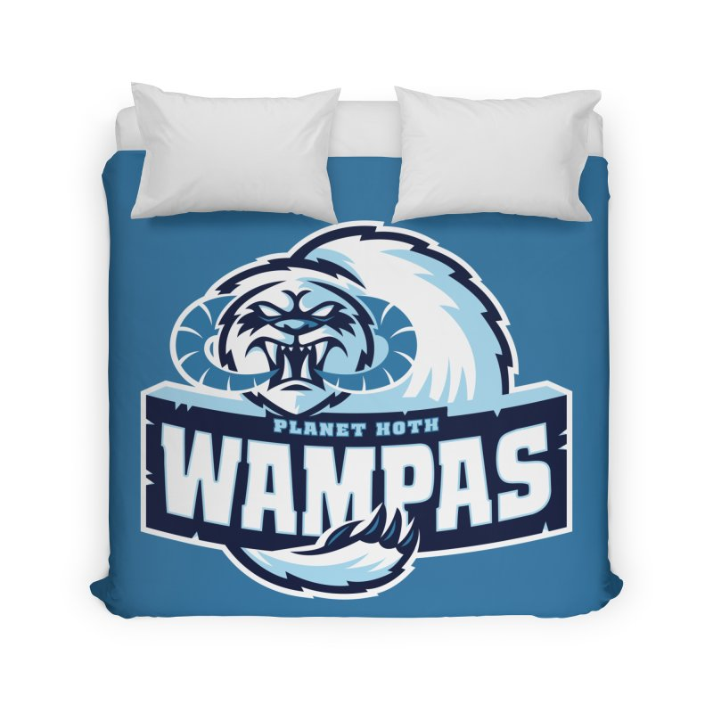 Planet Hoth Wampas Home Duvet by WanderingBert Shirts and stuff