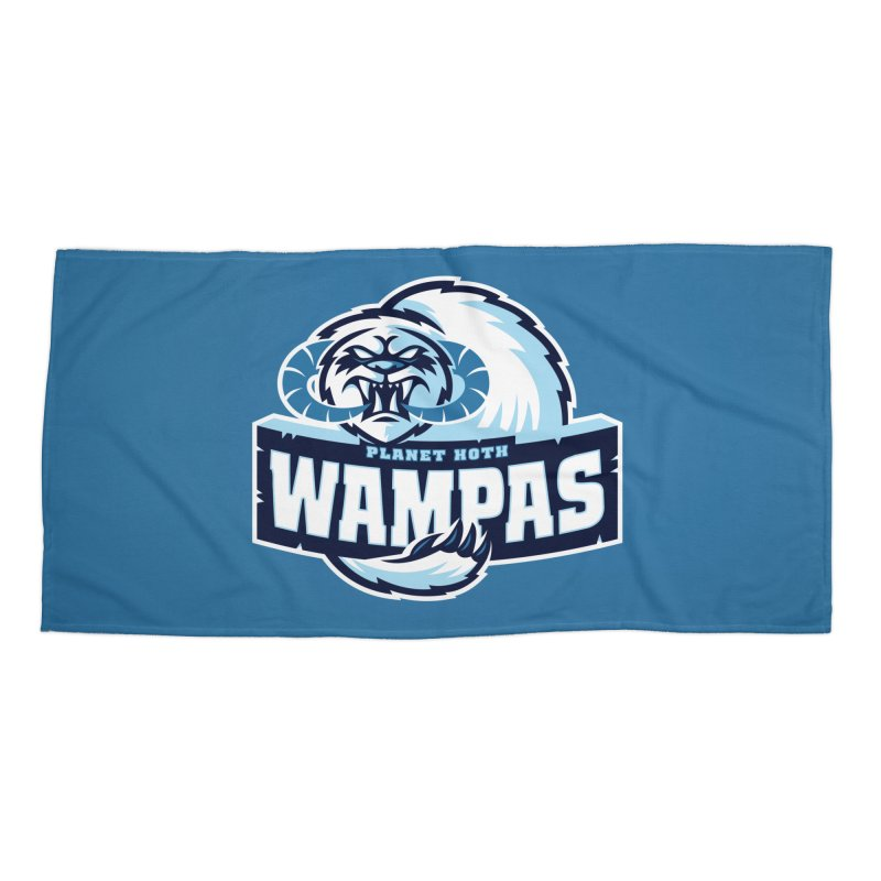 Planet Hoth Wampas Accessories Beach Towel by WanderingBert Shirts and stuff