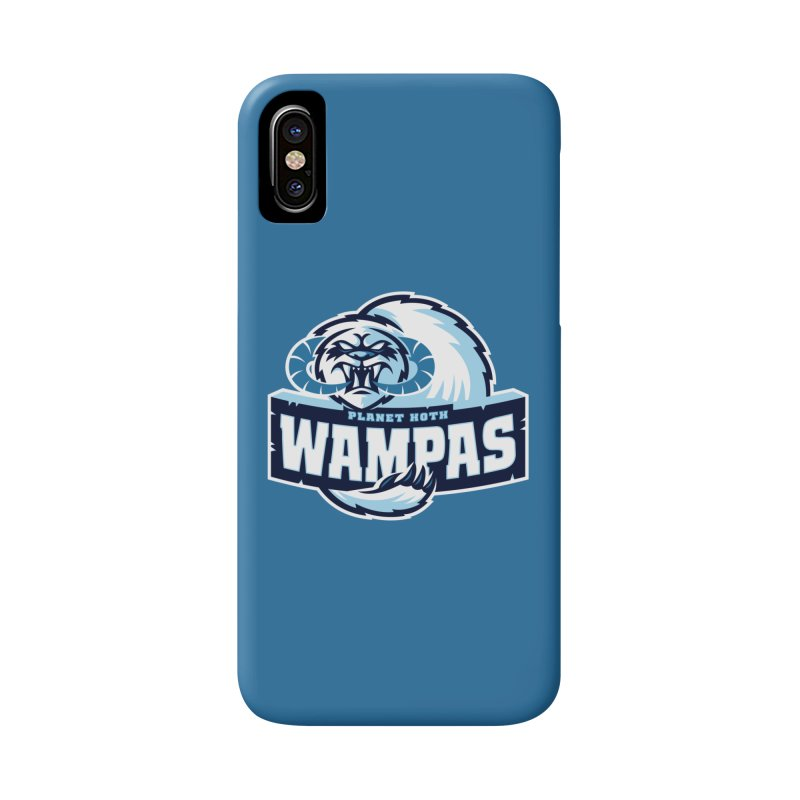 Planet Hoth Wampas Accessories Phone Case by WanderingBert Shirts and stuff