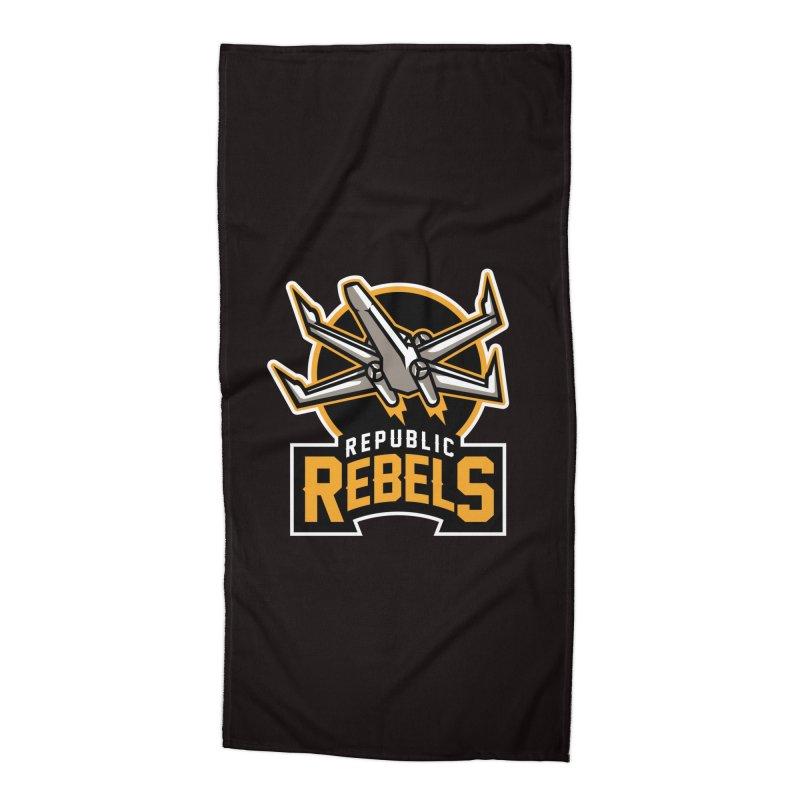 Republic Rebels Accessories Beach Towel by WanderingBert Shirts and stuff