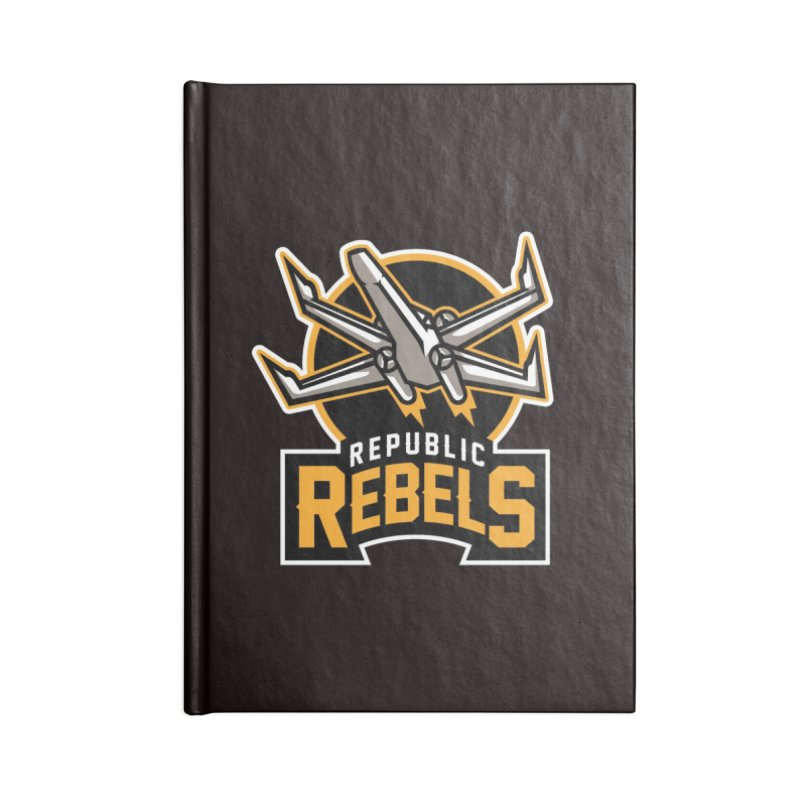 Republic Rebels Accessories Notebook by WanderingBert Shirts and stuff