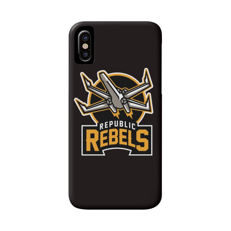 Republic Rebels Accessories Phone Case by WanderingBert Shirts and stuff