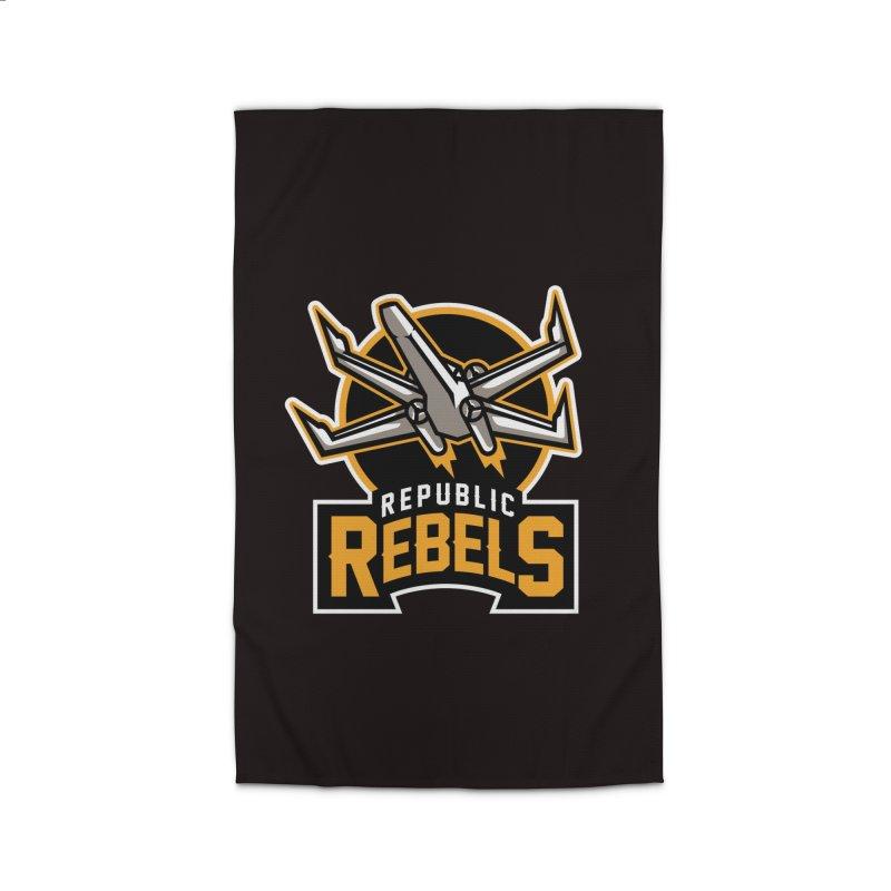 Republic Rebels Home Rug by WanderingBert Shirts and stuff