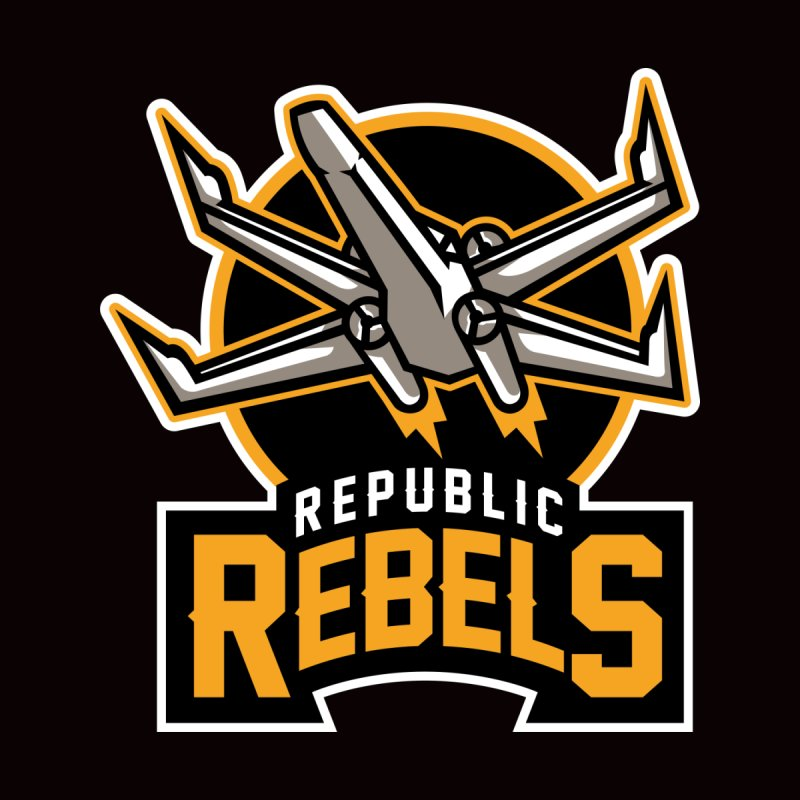 Republic Rebels Kids T-Shirt by WanderingBert Shirts and stuff
