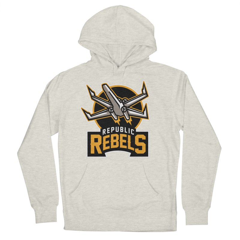Republic Rebels Men's Pullover Hoody by WanderingBert Shirts and stuff