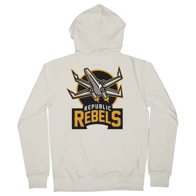 Republic Rebels Women's Zip-Up Hoody by WanderingBert Shirts and stuff