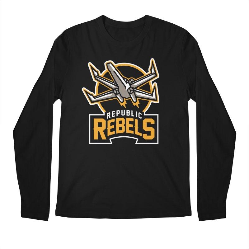 Republic Rebels Men's Longsleeve T-Shirt by WanderingBert Shirts and stuff