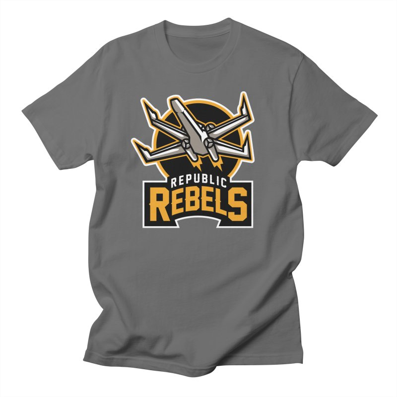 Republic Rebels Men's T-Shirt by WanderingBert Shirts and stuff