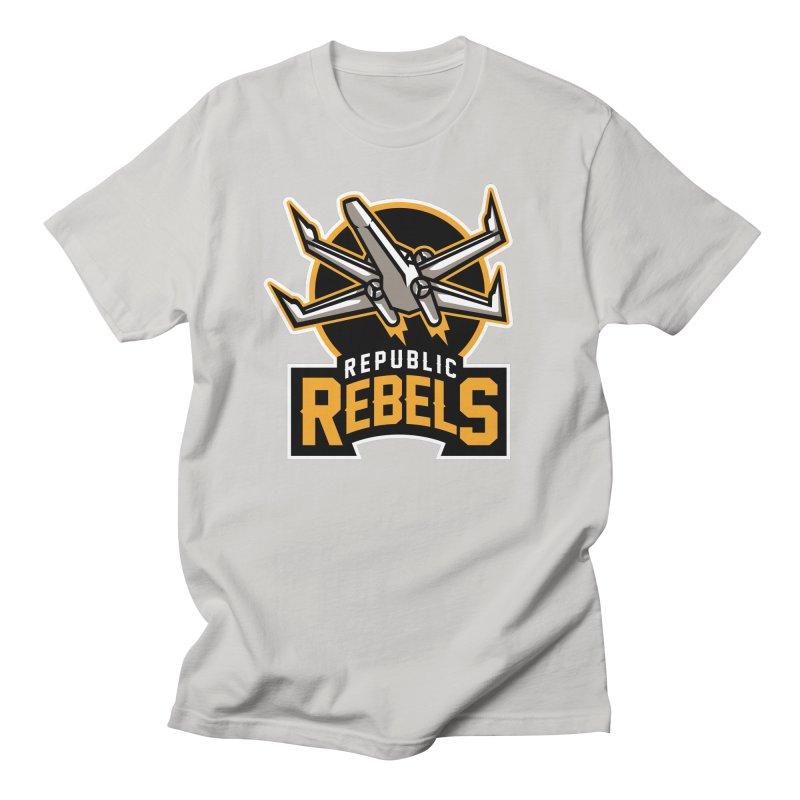 Republic Rebels Women's Unisex T-Shirt by WanderingBert Shirts and stuff