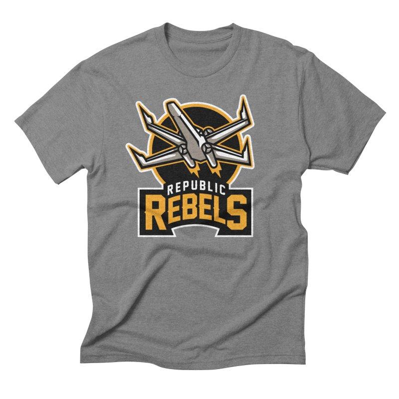 Republic Rebels Men's Triblend T-Shirt by WanderingBert Shirts and stuff