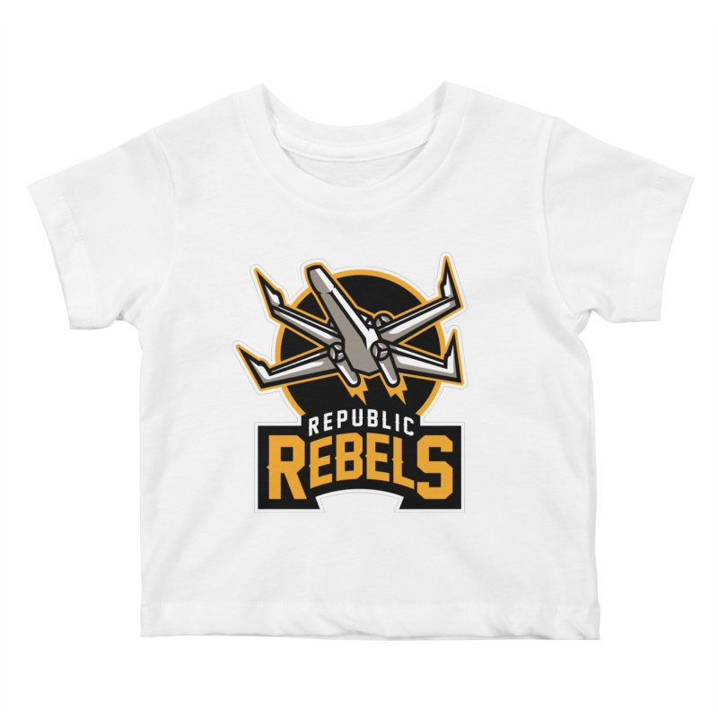Republic Rebels Kids Baby T-Shirt by WanderingBert Shirts and stuff
