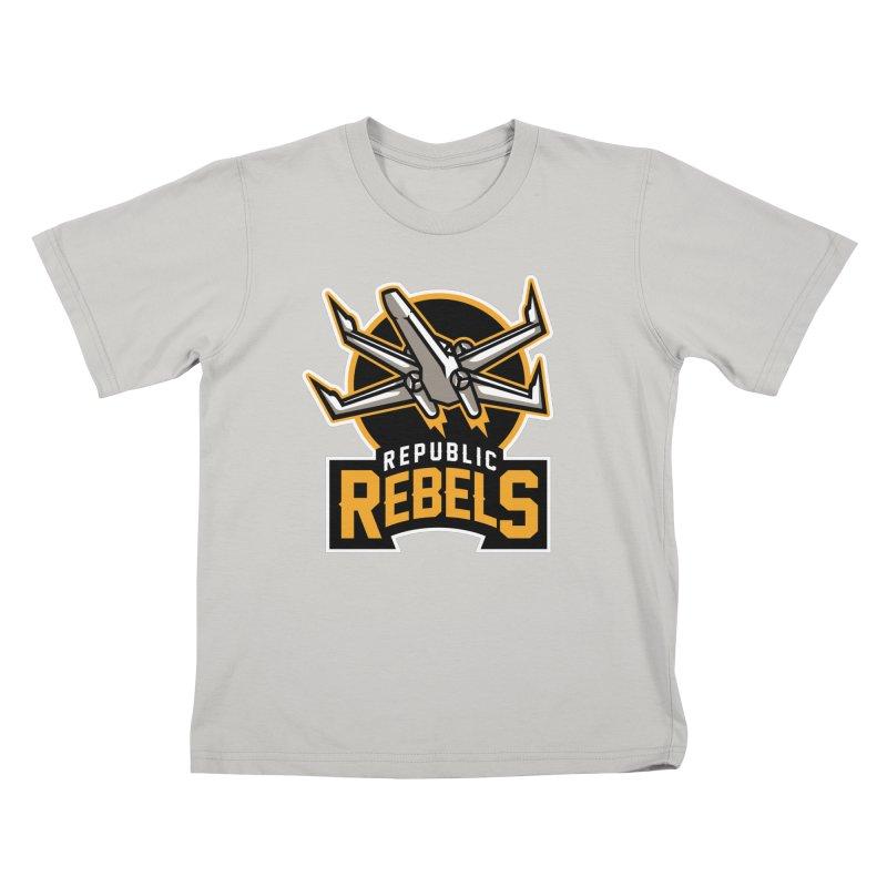 Republic Rebels Kids T-Shirt by WanderingBert Shirts and stuff